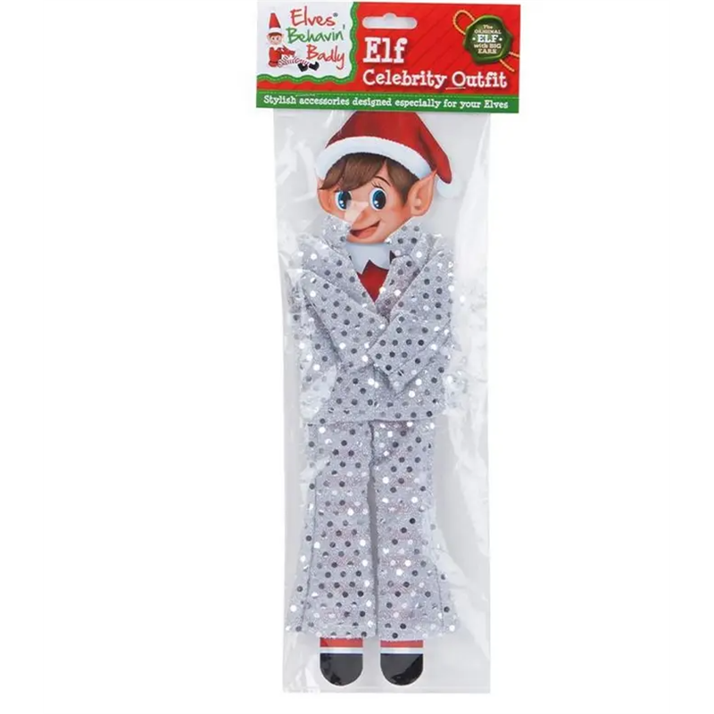 ELF SEQUIN CELEBRITY OUTFIT (SILVER)