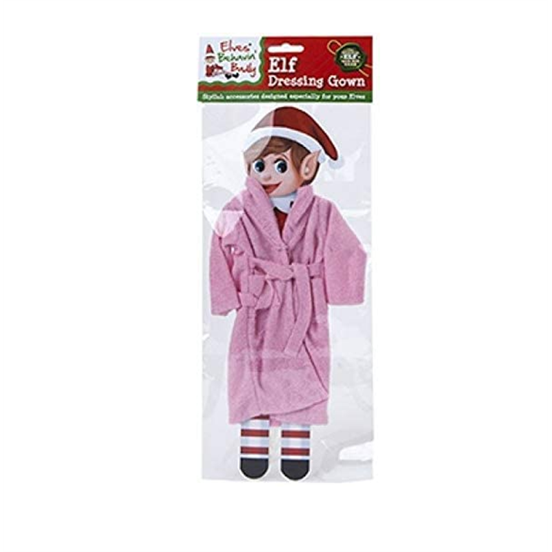 ELF DRESSING GOWN (PINK)