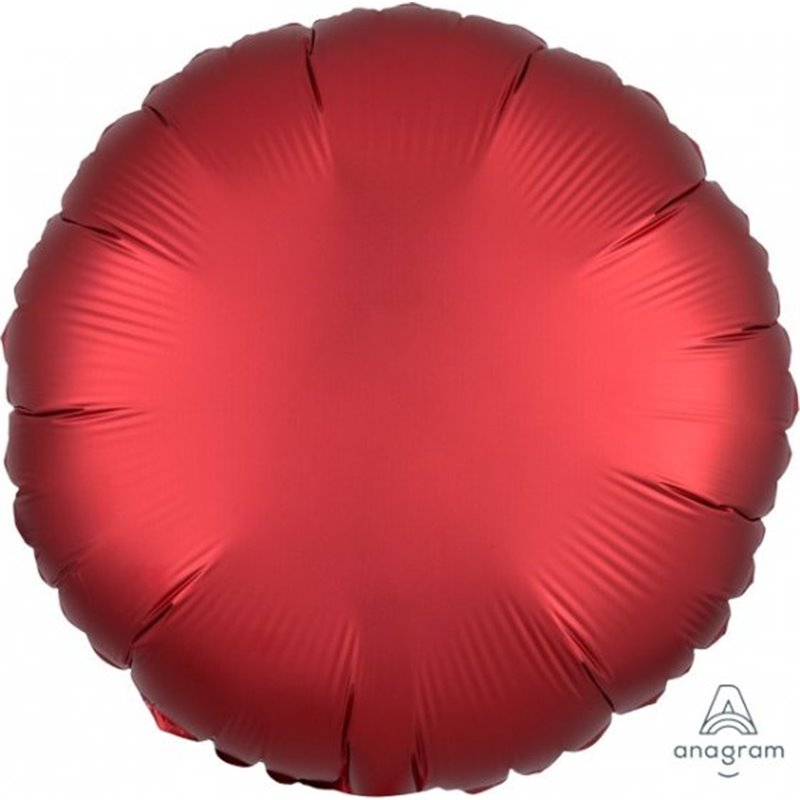 SANGRIA CIRCLE FOIL BALLOON