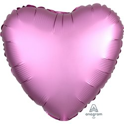 FLAMINGO HEART FOIL BALLOON