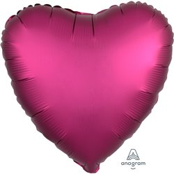 POMEGRANITE HEART FOIL BALLOON