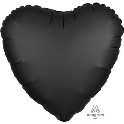 ONYX HEART FOIL BALLOON