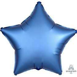 AZURE STAR FOIL BALLOON