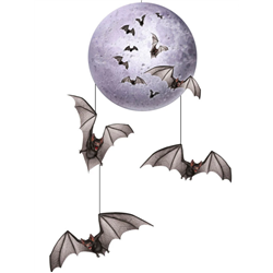 MOON & BATS MOBILE HANGING DECORATION