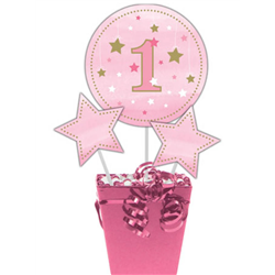 ONE LITTLE STAR GIRLS CENTREPIECE STICKS