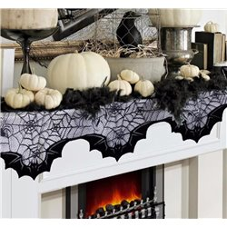 SPIDERWEB BATS FIREPLACE