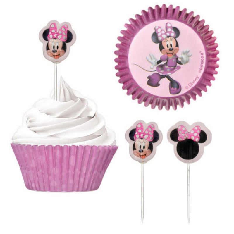 CUPCAKE CASES AND PICKS SET