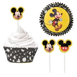 CUPCAKE CASES & PICKS SET