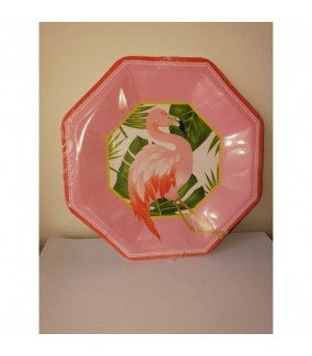 Flamingo Dinner Plates