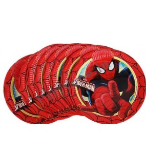 Spiderman Dinner Plates