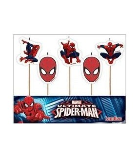 Spiderman Candles