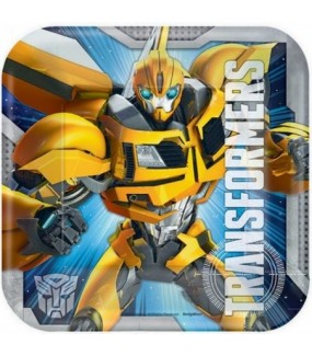 Transformers Lunch Plates