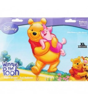 Winnie The Pooh Supershape Foil Balloon